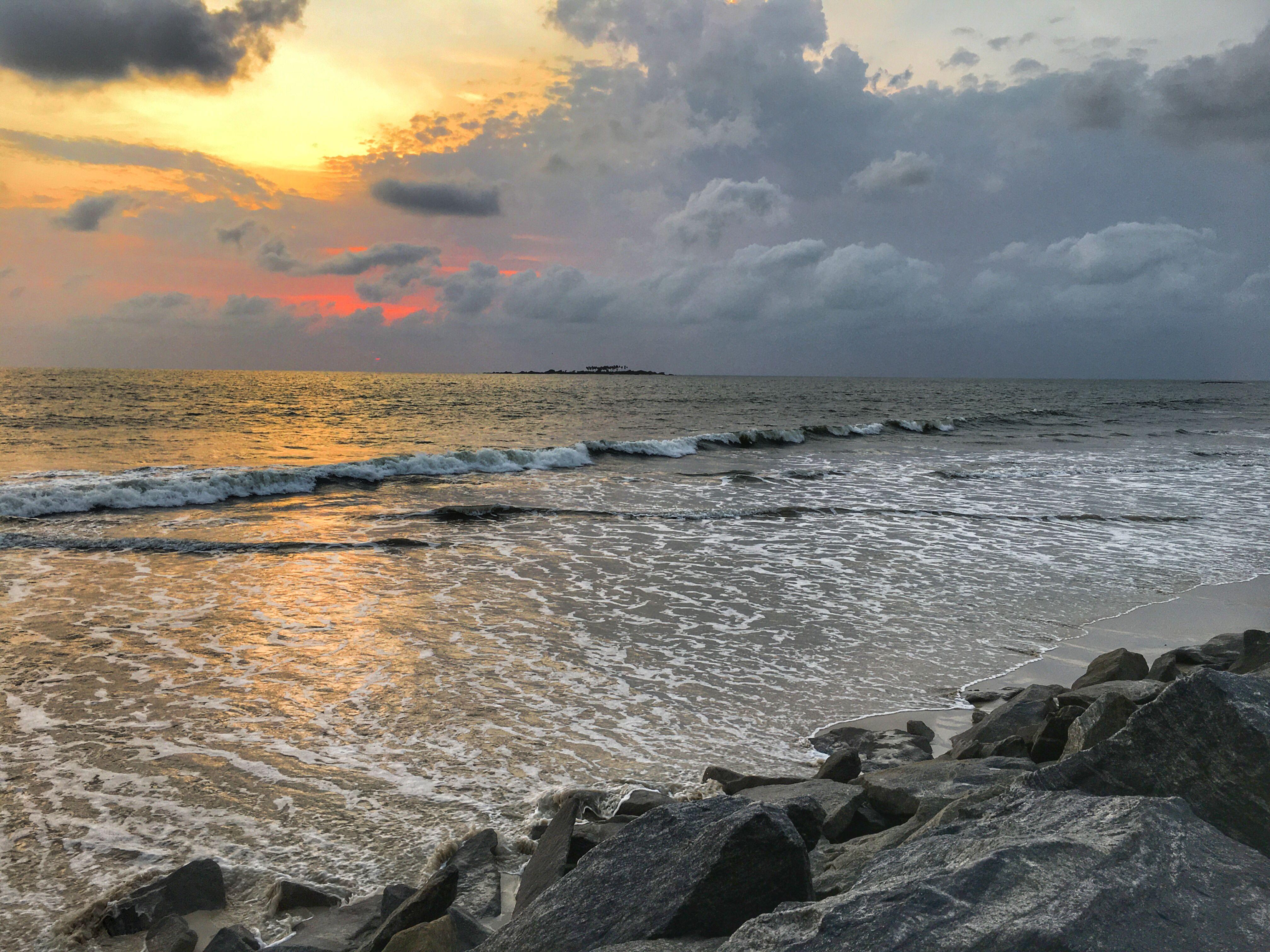 #beach #beachlife #beachhousedecor #sunset  #water #seashells