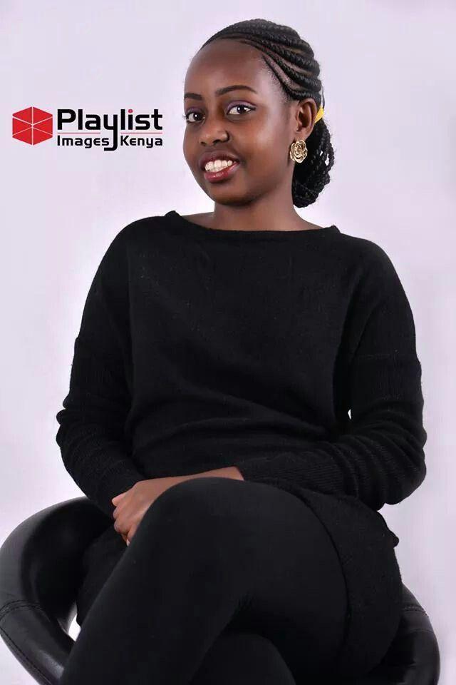 Beautiful Ghanian Lines Cornrows On A Beautiful Kenyan Kenyan Girl