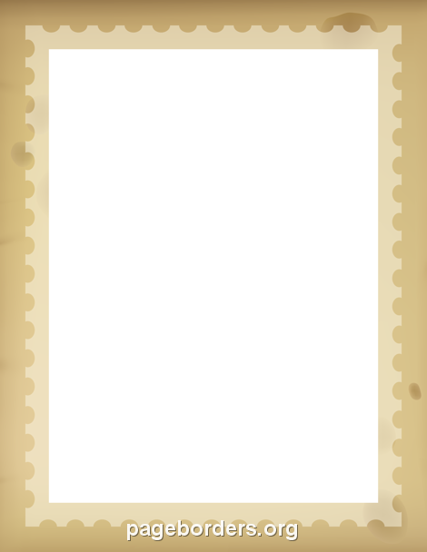 Printable Stamp Border Use The In Microsoft Word Or Other Programs For Creating Flyers
