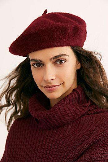 Orange Beret Fall Beret Wool Beret FallWinter Hat, Beret Women/'s Wool Beret Hat Fancy Beret Stylish Women/'s Hat Fancy Beret