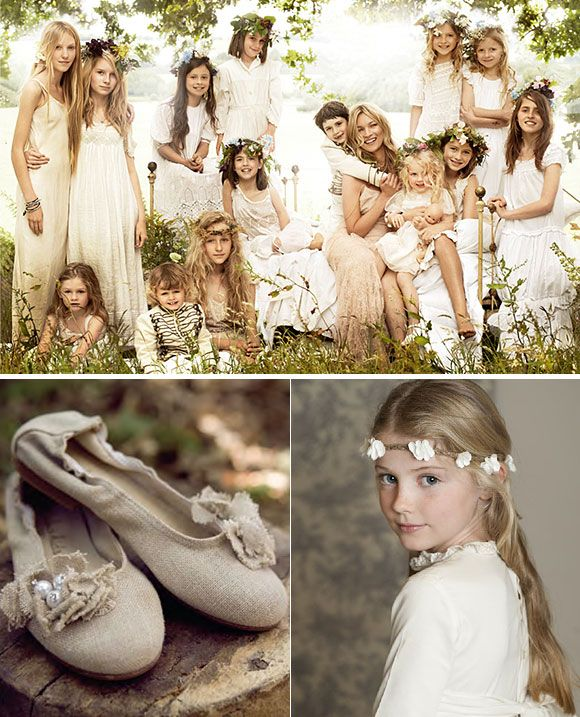 Ideas para vestir a los pajes en tu boda