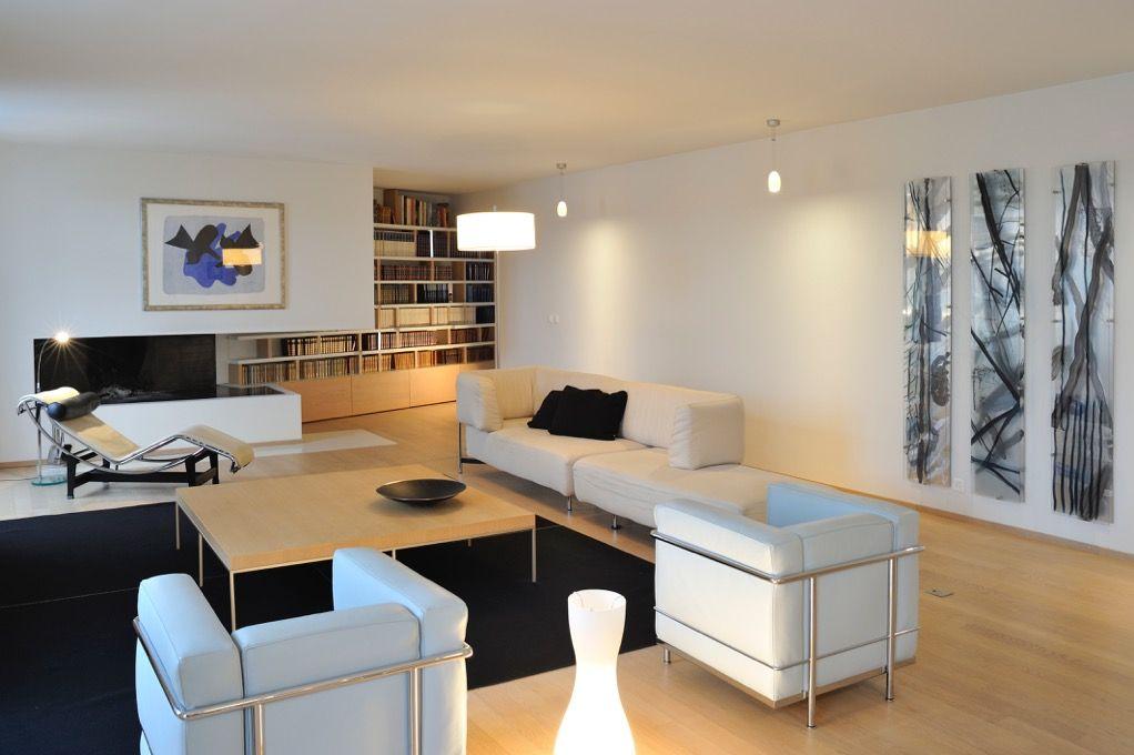 Chaise Longue Designed By Le Corbusier Cina Apartment Furniture Contemporary Interior