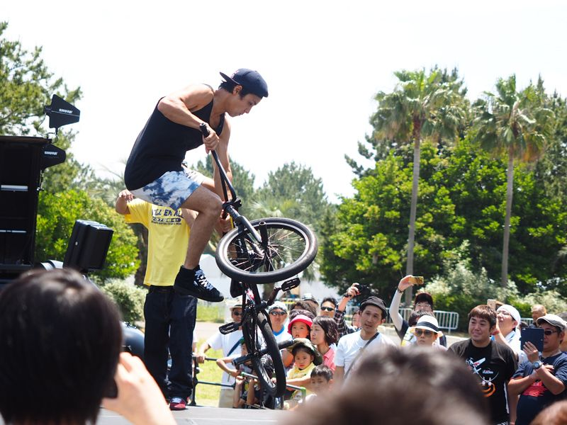 Red Bul lAir Race 2015 in Chiba Side Act BMX