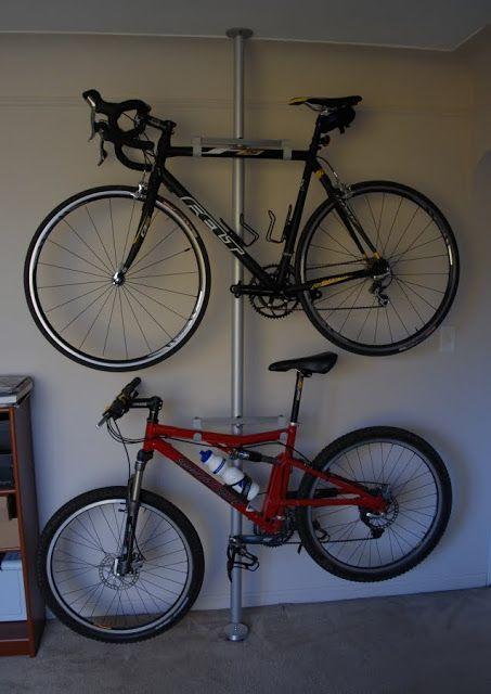 cuelga bicis biking pinterest rangement rack velo et garage. Black Bedroom Furniture Sets. Home Design Ideas