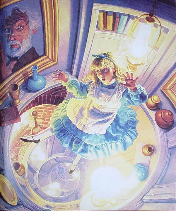 Алиса картинка из книги
