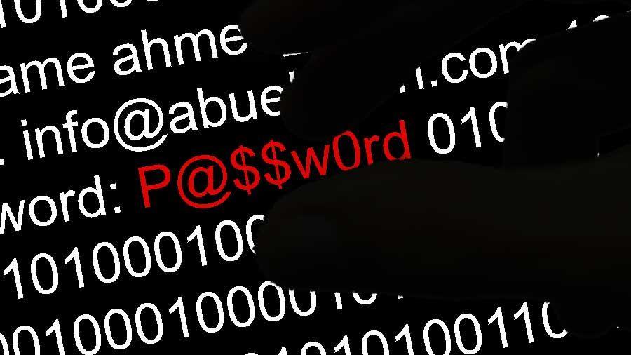 كلمات المرور هي خط الدفاع الأول ضد محاولات الاستيلاء على حساباتك عبر الإنترنت والكمبيوتر والكمبيوتر اللوحي أو الهاتف كلمات السر السيئة Words Info Lockscreen