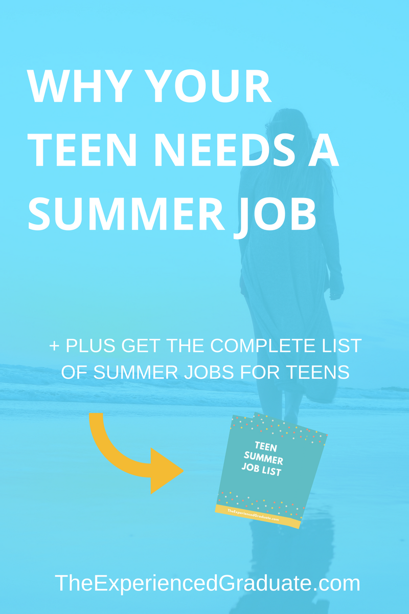 That teen summer job suggestions how