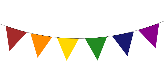 Free Image On Pixabay Banner Party Decoration Banner Clip Art Birthday Flags Triangle Banner