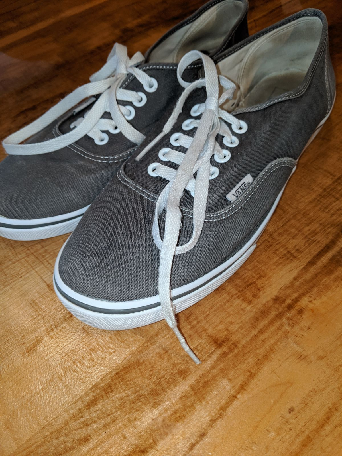 wall gray canvas shoes unisex