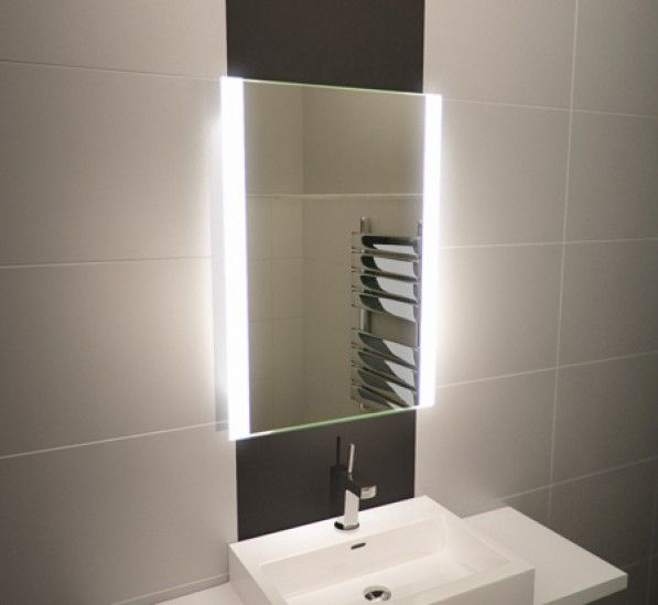 Lucent tall led light bathroom mirror bathroom pinterest 600 x 500 led illuminated bathroom mirror sensor shaver socket demister pad 1114 mozeypictures Image collections