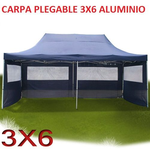 Carpa plegable 3x6 carpas plegables pinterest for Gazebo plegable easy