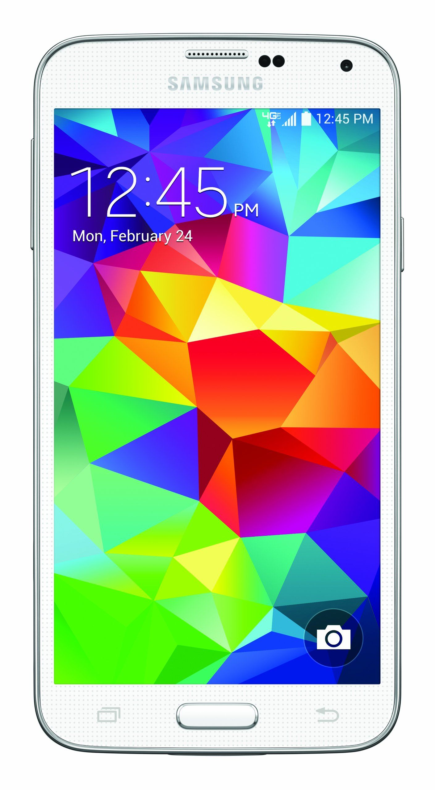 Amazon Samsung Galaxy S5 16GB White Verizon Wireless