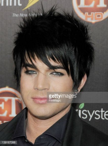 Adam Lambert arrives at TV Guide Magazine's Hot List Party at SLS Hotel on November 10, 2009 in Los Angeles, California.