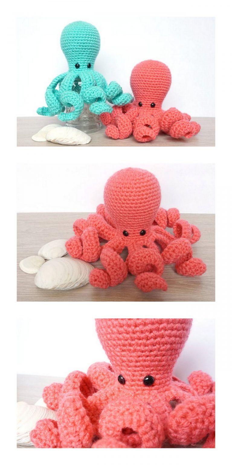 Amigurumi Mini Octopus Free Pattern Free Amigurumi Patterns In 2020 Octopus Crochet Pattern Free Octopus Crochet Pattern Disney Crochet Patterns