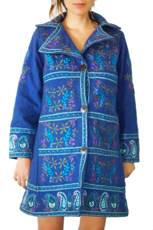 9 von 7 küchendesign flower power coat psychedelic the beatles costume pure handmade