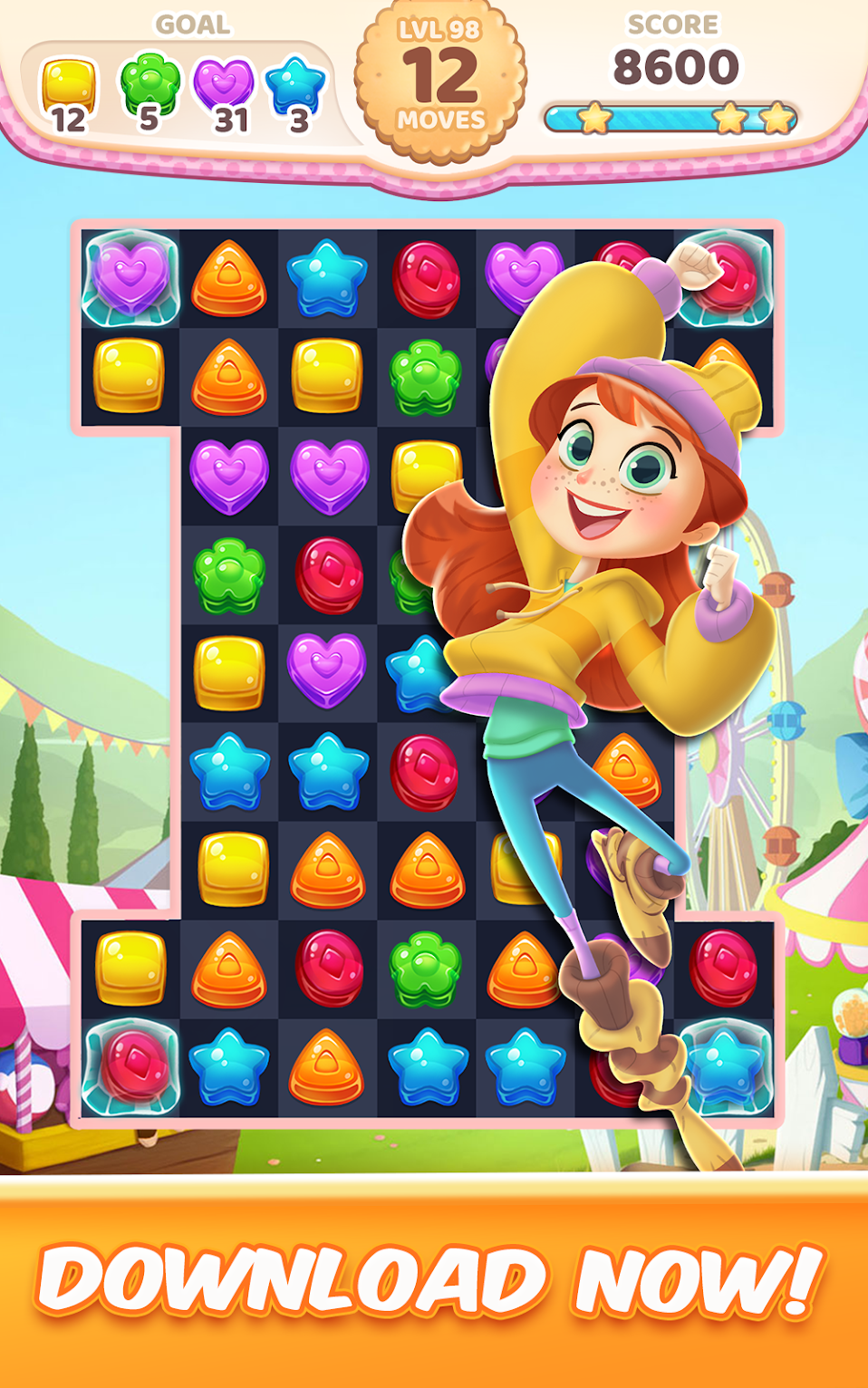 Приложения в Google Play Cookie Rush Match 3 Game