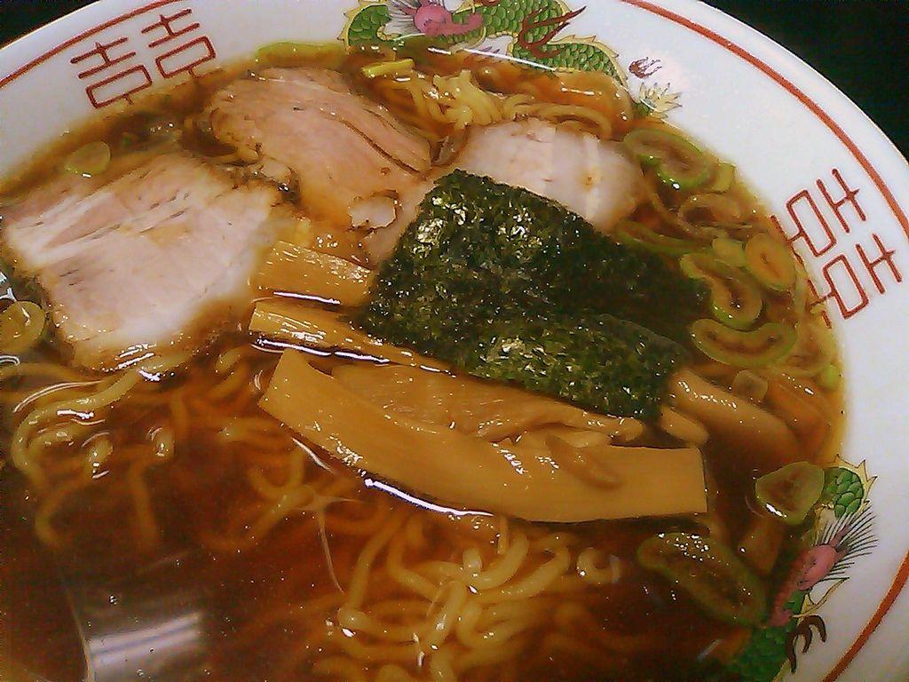 ラーメン 500円 日光軒 盛岡市大通 Food Cup Ramen Japanese Ramen
