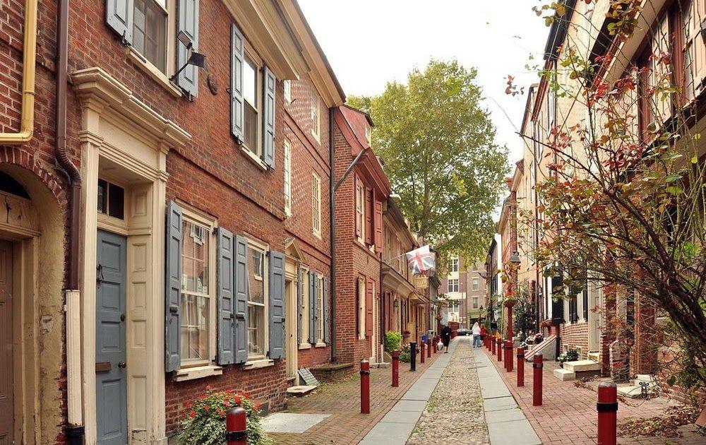 Elfreths alley americas oldest residential street