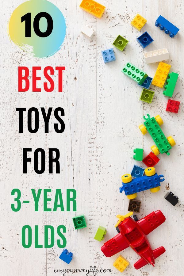 10 Most Age Appropriate Toys For 3YearOlds Age