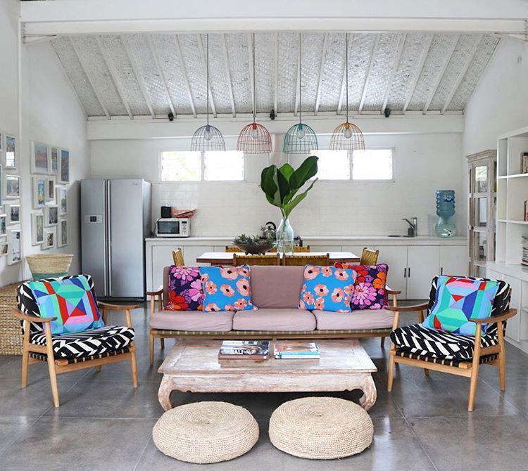 Bali Beach House: Bali Living Room Mister Zimi Style