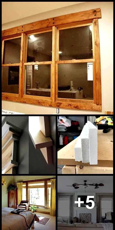 Window Trim Ideas Tags Interior, Exterior, Farmhouse