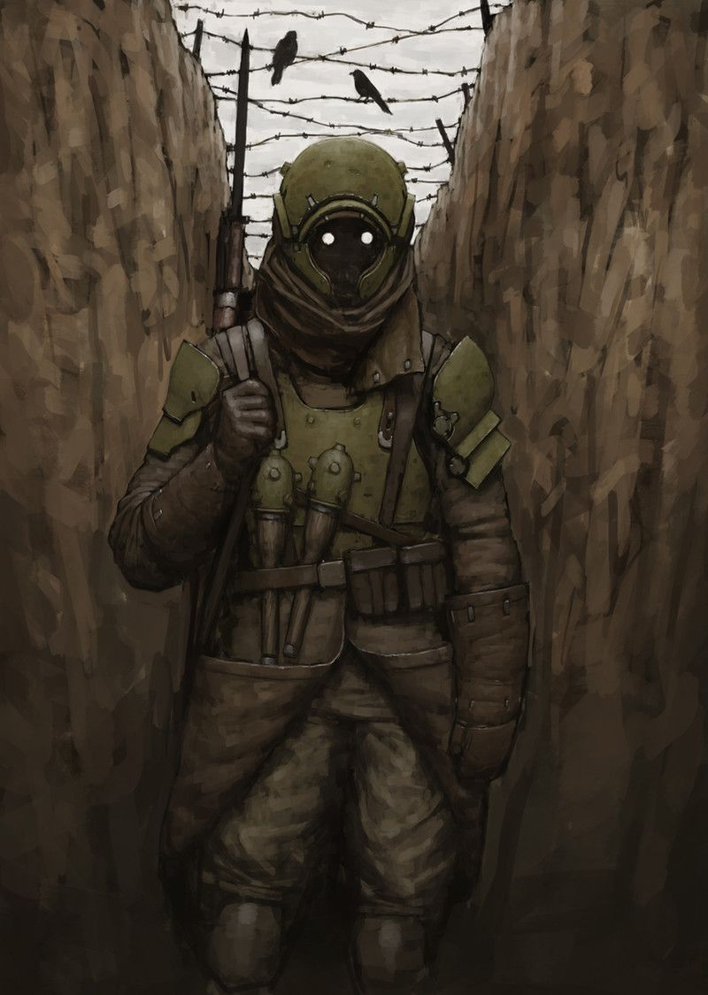 Trench Soldier by Ariel Perez on ArtStation. | Characters ...