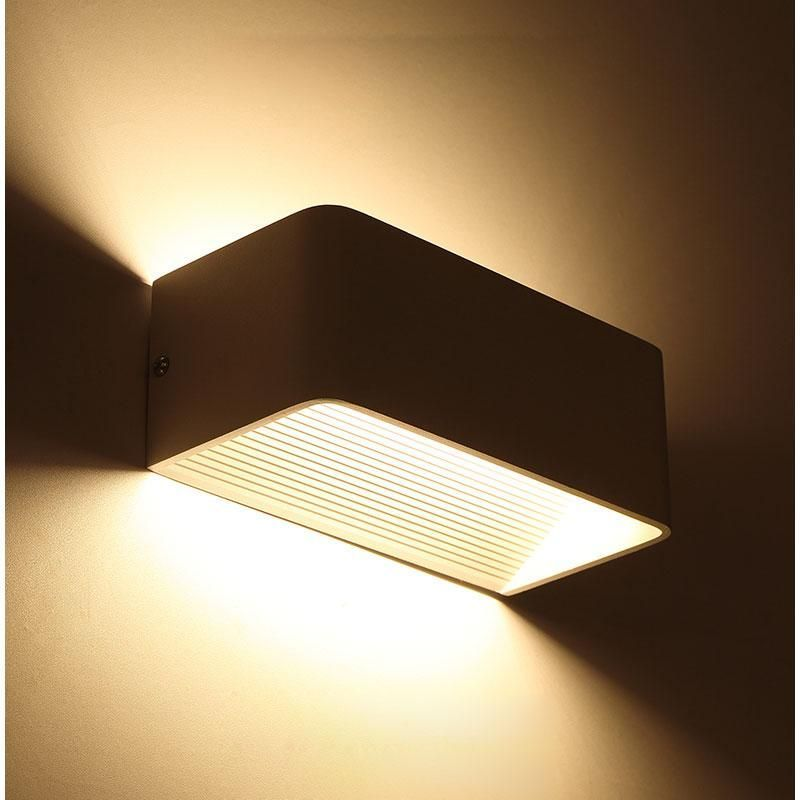 Modern LED wall light 6W fashion aluminum bedside lamp for home ...