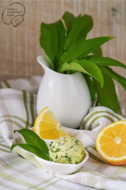 Wonder Wunderbare Küche: Bärlauch-Zitronen-Butter