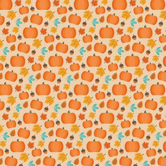 Autumn Splendor Cutest Pumpkin 12 X 12 Paper Cute Pumpkin