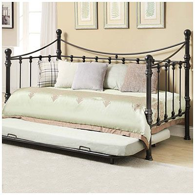 Best Quinn Metal Twin Daybed With Trundle At Big Lots I Am In 400 x 300