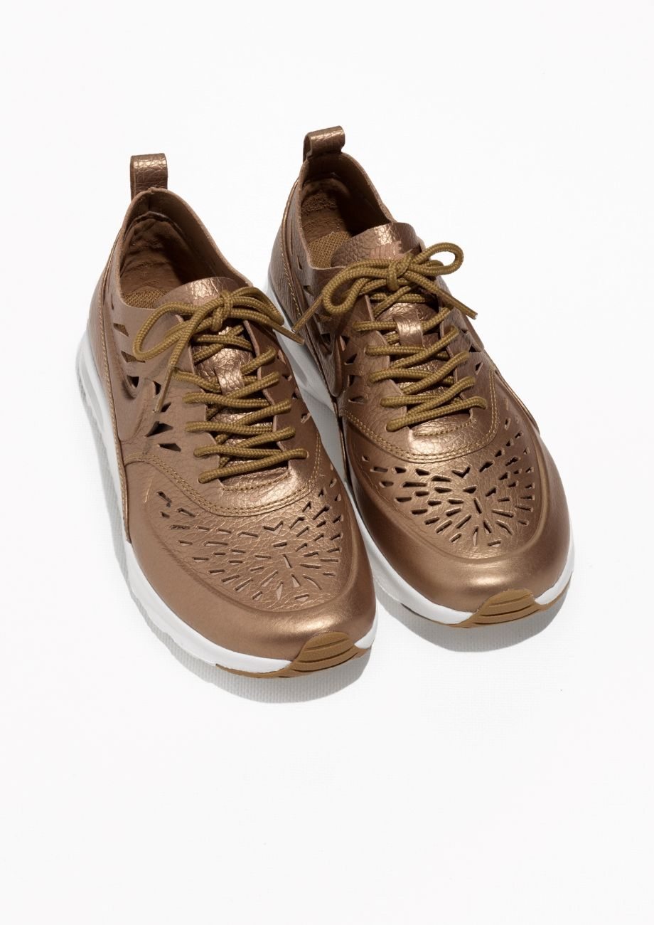 Other Stories image 2 of Nike Air Max Thea Joli in Gold