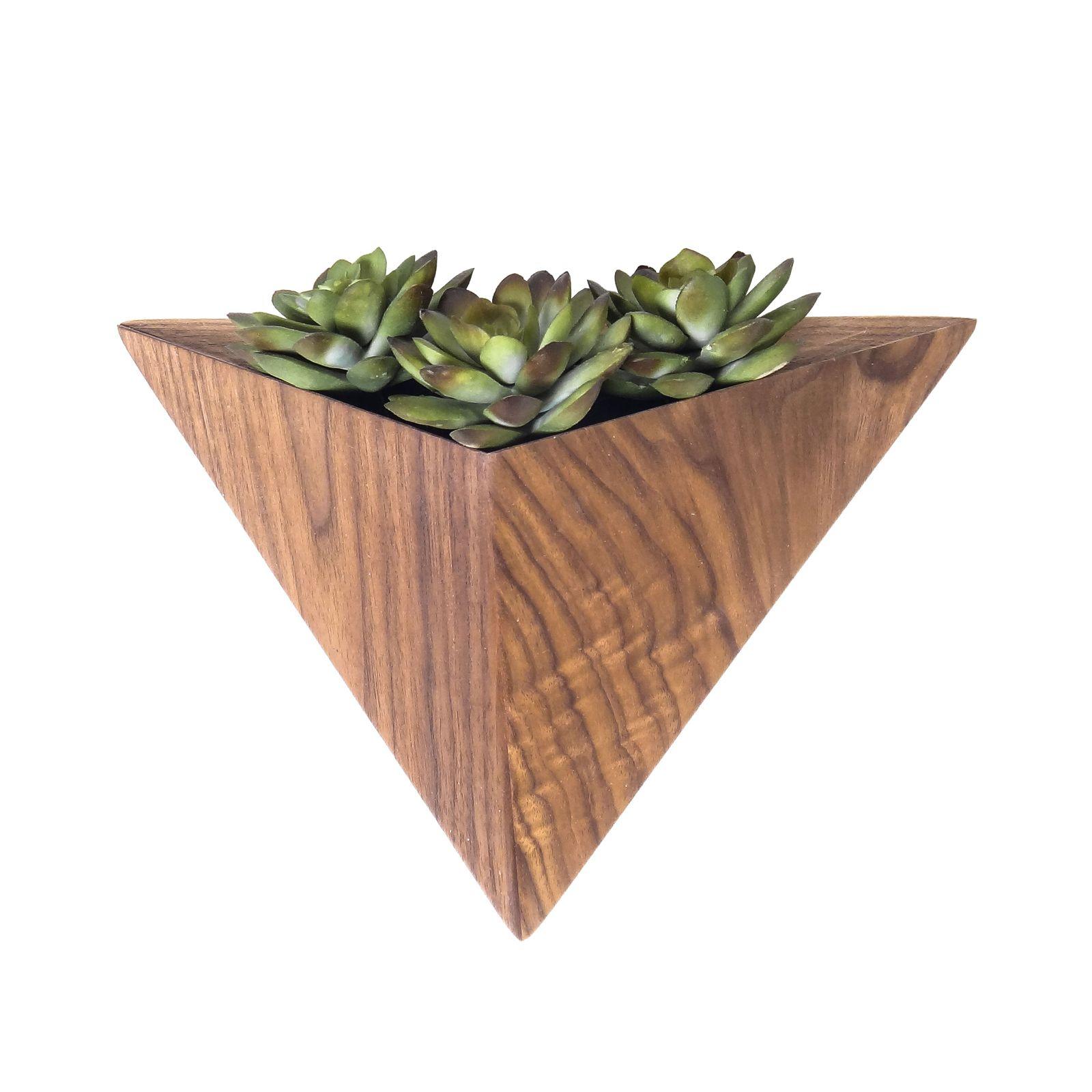 Pyramid wall planter box dream home pinterest planters and walls
