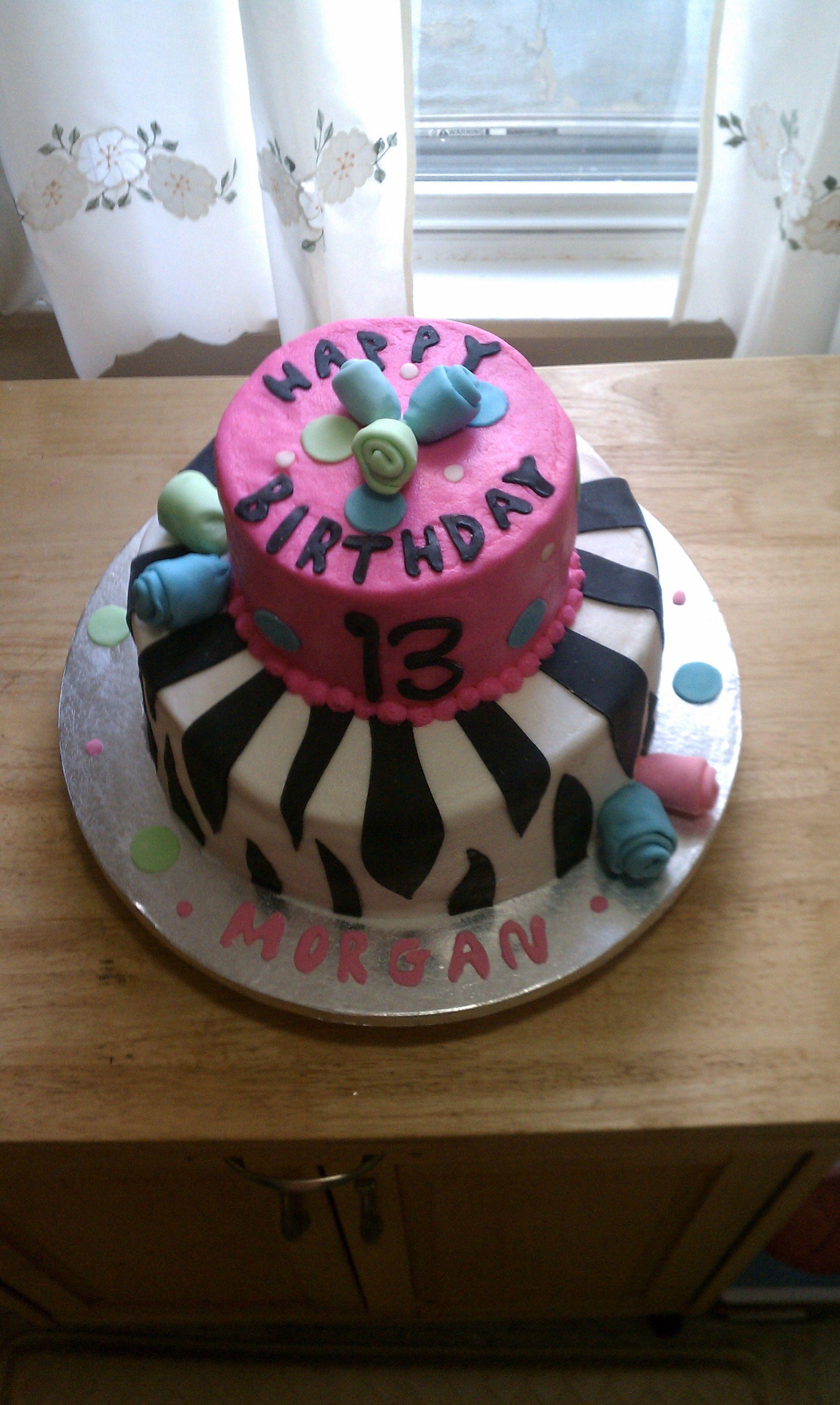 13th birthday cake cakes pinterest 13th birthday