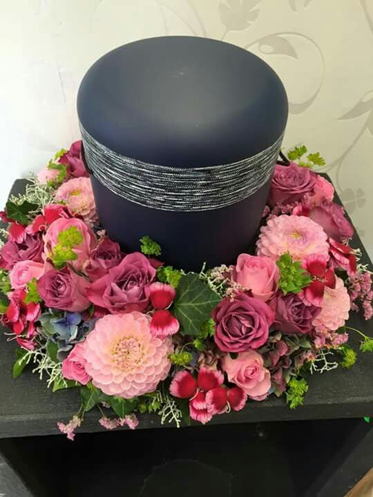 Rosa  Mix  kegyeleti  Kranz beerdigung Beerdigung