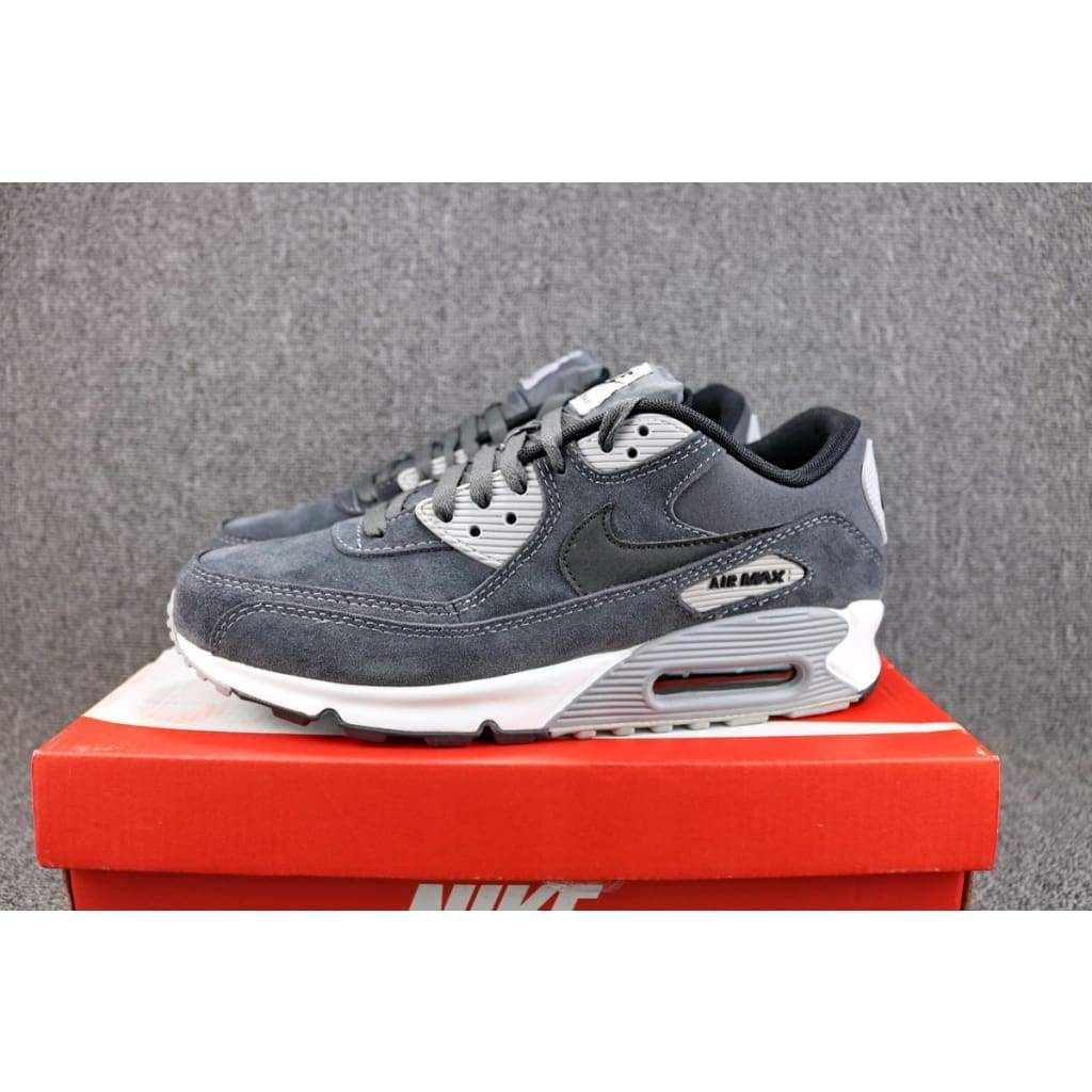 2215a8bf95a2 Nike Air Max 90 Leather Anthracite  652980-012 in 2018