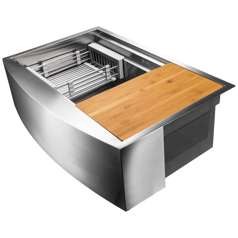 26++ Akdy apron farmhouse handmade stainless steel kitchen sink ideas in 2021