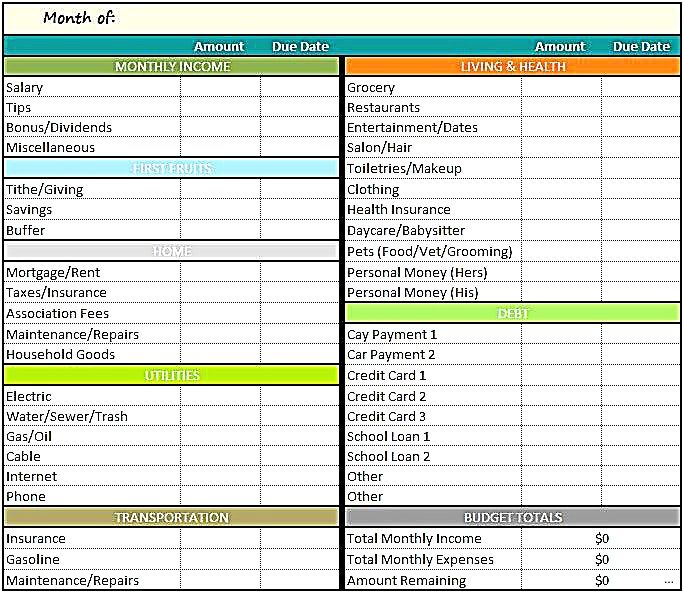 budget template excel capture budget template excel monthly