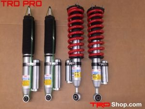Trd Pro Suspension Tundra Toyota Parts Lifted