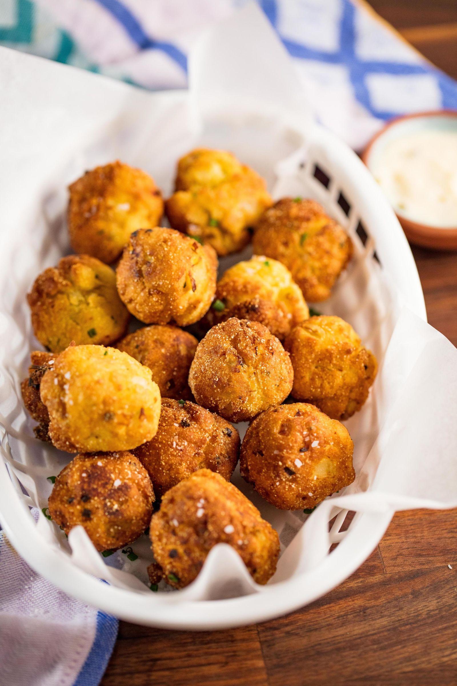 Hush Puppies Recipe Food, Food recipes, Cooking recipes