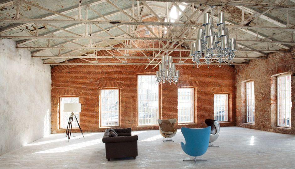 Natural light studio loft