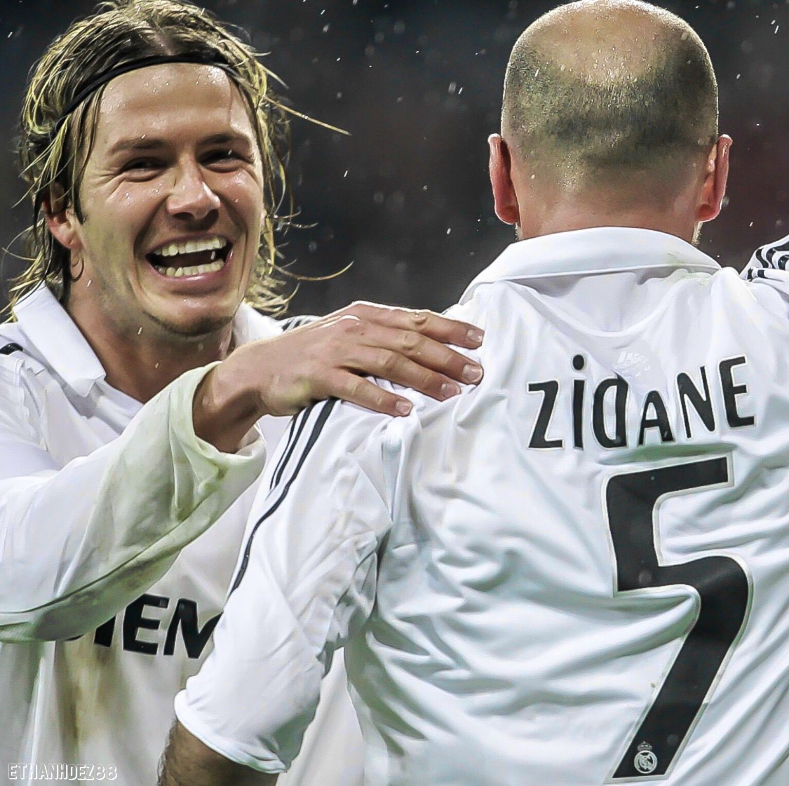 Beckham & Zidane - Real Madrid