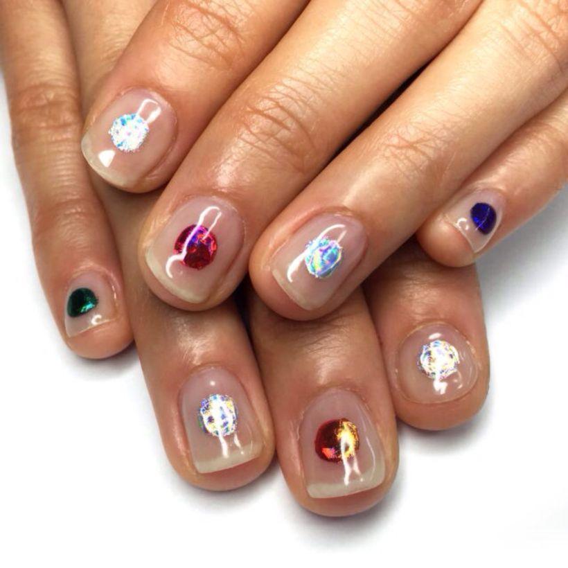 55 Minimal Nail Arts Inspiration