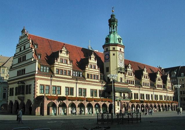 Leipzig Old Town Hall Cities In Germany German Architecture Germany