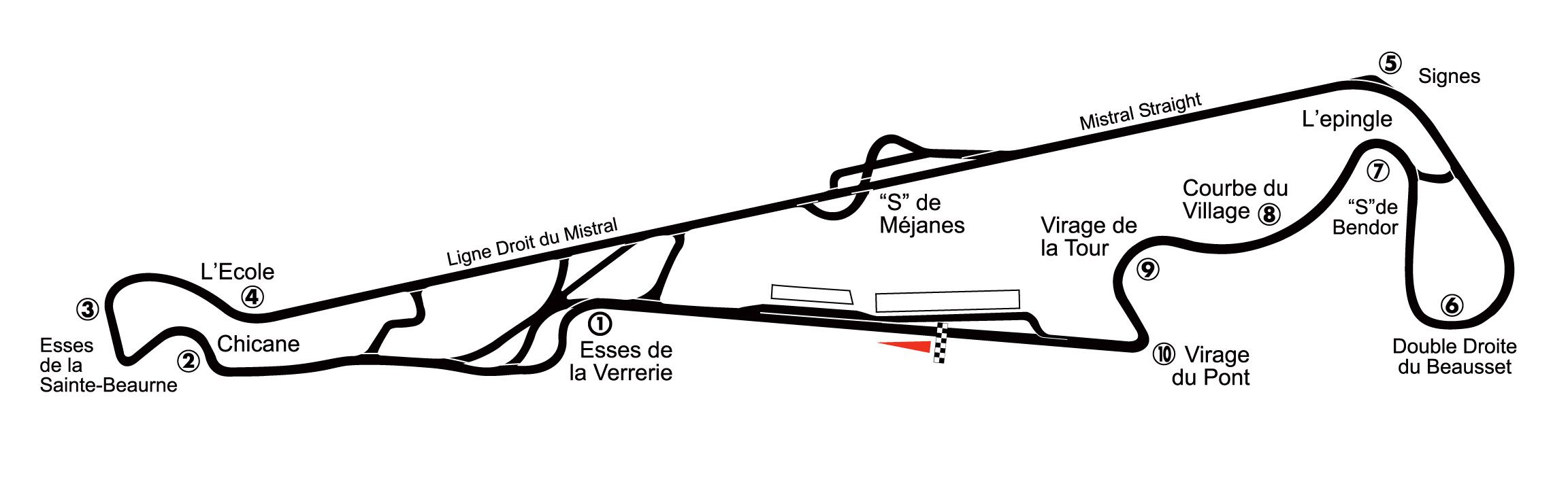 Circuito Paul Ricard : Paul ricard racing circuits race tracks and f