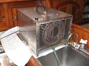 Stainless Dehumidifier Boat Projects Bluewater Boat