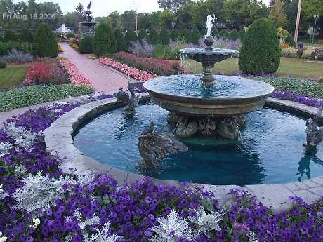 St Cloud Munsinger Gardens Part Of Clemens Gardens Saint Cloud Minnesota The Heart Of