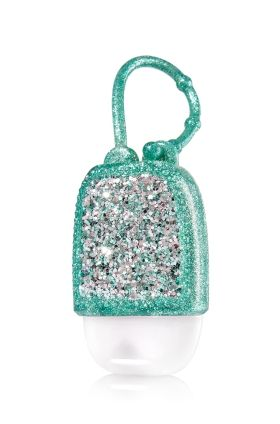 Mint Glitter Pocketbac Holder Bath Body Works A Party For
