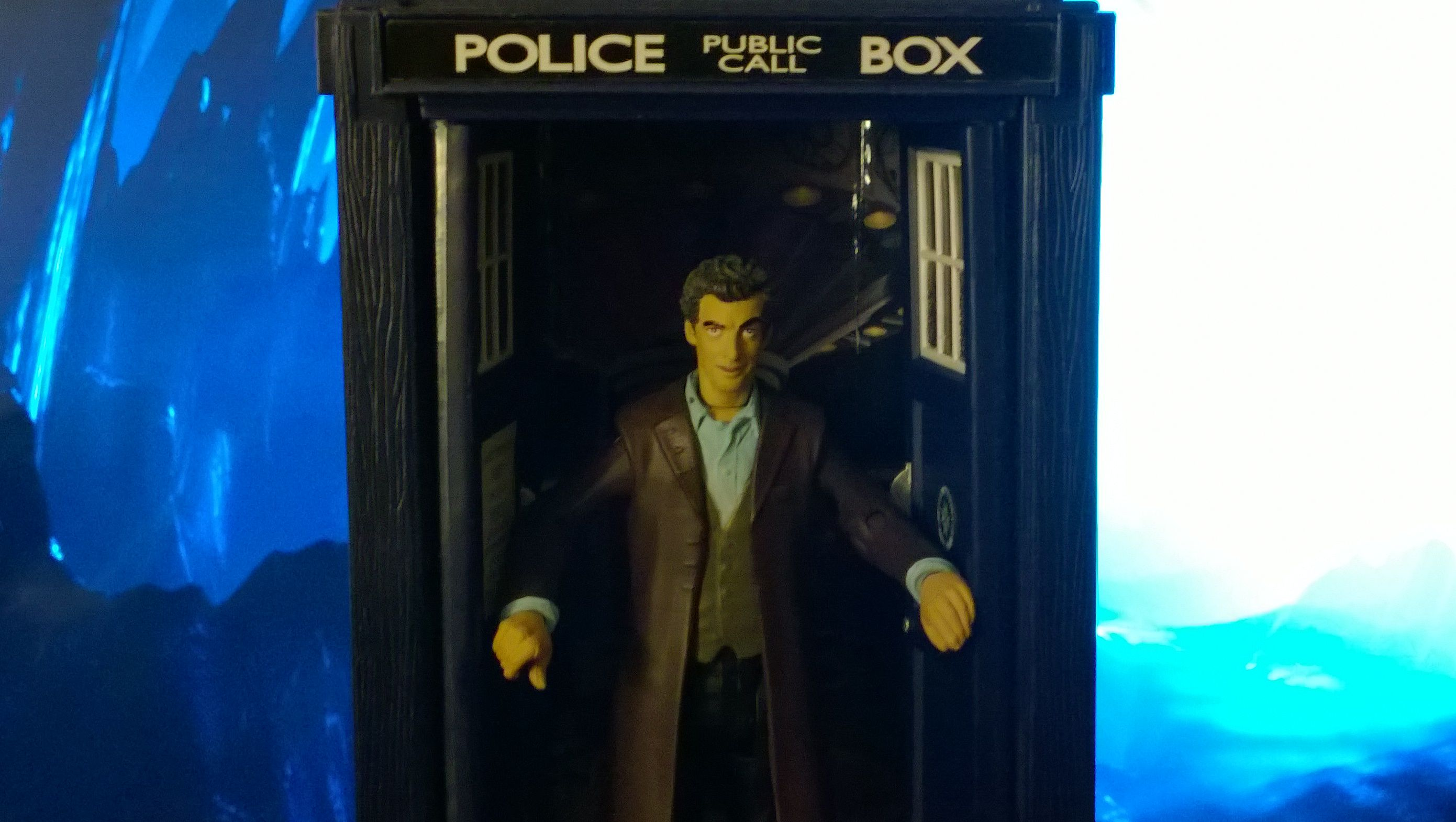 The Clock Strikes 12 12th Doctor Regenerated 3 75 Action Figure Action Figures 12th Doctor Figures