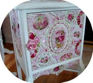 Shabby Chic Mosaic Furniture