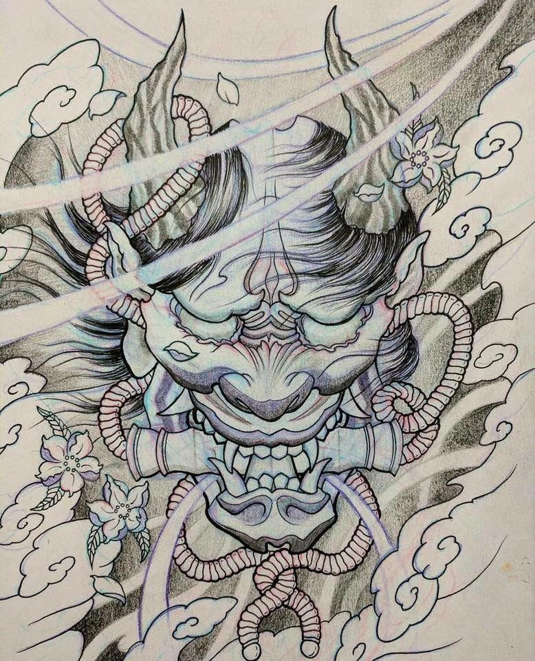 Japanese Sleeve Tattoos Ideas Japanesetattoos Japanese Demon